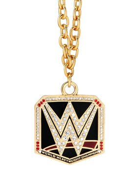 Official WWE Authentic  World Heavyweight Championship Pendant Gold