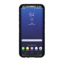 Speck Presidio Grip Case for Samsung Galaxy S8 Plus, Black/Black