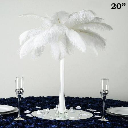 Balsacircle 12 Pcs 20 Tall Wedding Centerpiece Eiffel Tower Vases