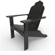 Adirondack Chair by Malibu Outdoor, Yarmouth - Black