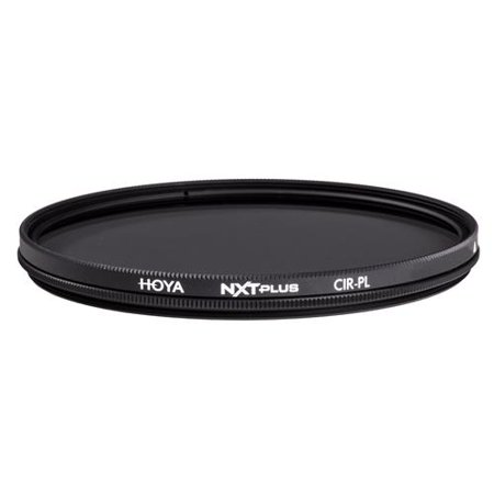 Hoya NXT Plus 77mm 10-Layer HMC Multi-Coated Circular Polarizer Lens Filter, Low-Profile Aluminum Frame ()