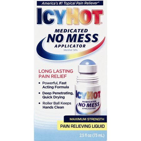 Icy Hot No Mess Applicator  2 5 Ounce
