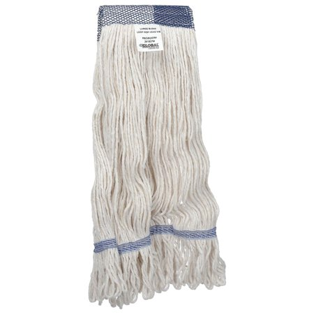 - Large Blend Looped Mop Head, Wide Band, Lot of 1