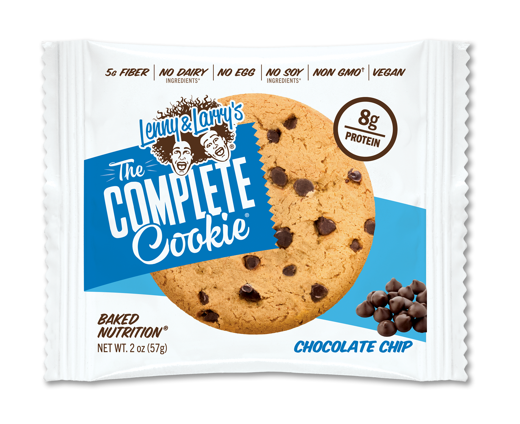 Lenny & Larry's The Complete Cookie, 16g of Protein, Chocolate Chip, 4 Oz, 1 Ct