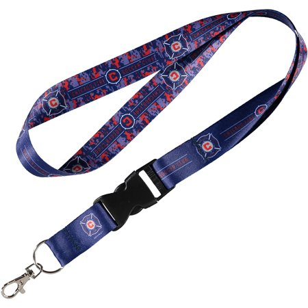 Chicago Fire WinCraft Camo Buckle Lanyard - No Size