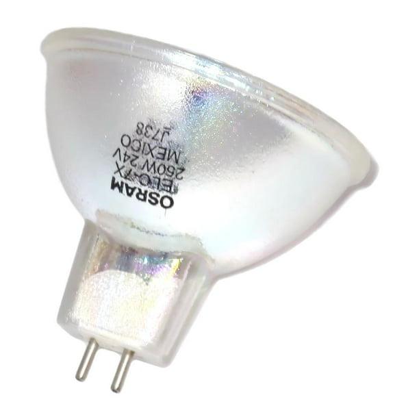 54814 Osram Elc 7 X 250w 24v Mr16 Clear Halogen Lamp Walmart Com Walmart Com