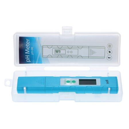 Digital LCD pH Meter pH & Temperature Test Pen Portable Auto Temp Compensation High-Accuracy Aquarium Water Quality Tester - image 4 de 7