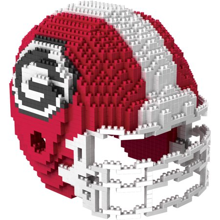 Georgia Bulldogs NCAA BRXZL 1378 Piece 3-D Construction Toy Football Helmet - Bethlehem Georgia