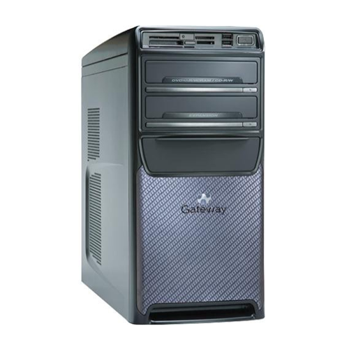 Gateway Desktop PC GT5662 Phenom X4 9500 3  500 GB ATI Radeon HD 2400XT Win Vista by Ga