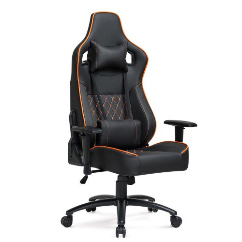 Awe Inspiring Jumper Big Tall Gaming Chair Racing Office Chair Adjustable Back Angle Soft Fabric Lumbar Support And Arms Ergonomic High Back Leather Computer Desk Gamerscity Chair Design For Home Gamerscityorg