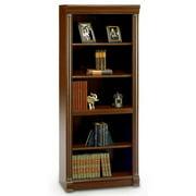 Bush Birmingham Executive 5-Shelf Bookcase, Harvest Cherry