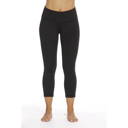 Just Love Yoga Capri Pants for Women with hidden
