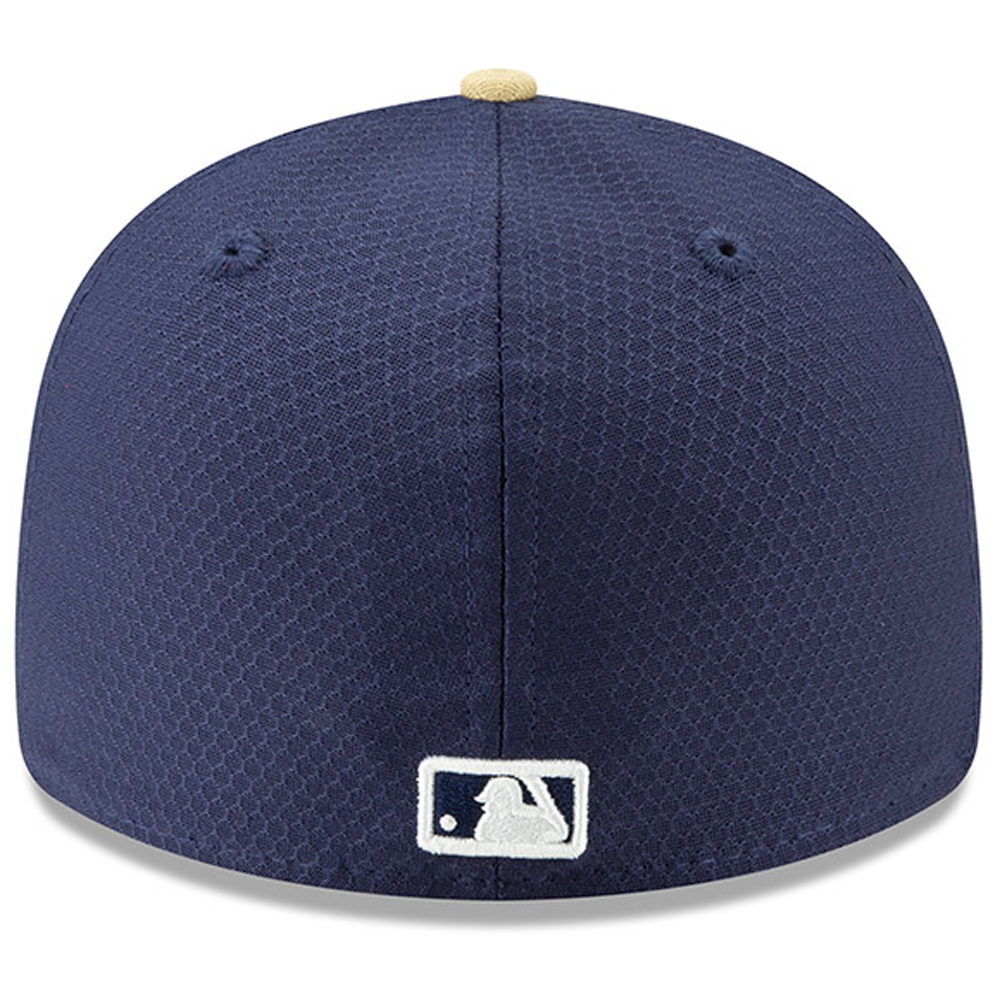 outlet store 7b15d 83f8c Milwaukee Brewers New Era 2019 Batting Practice Low Profile 59FIFTY Fitted  Hat - Blue - Walmart.com