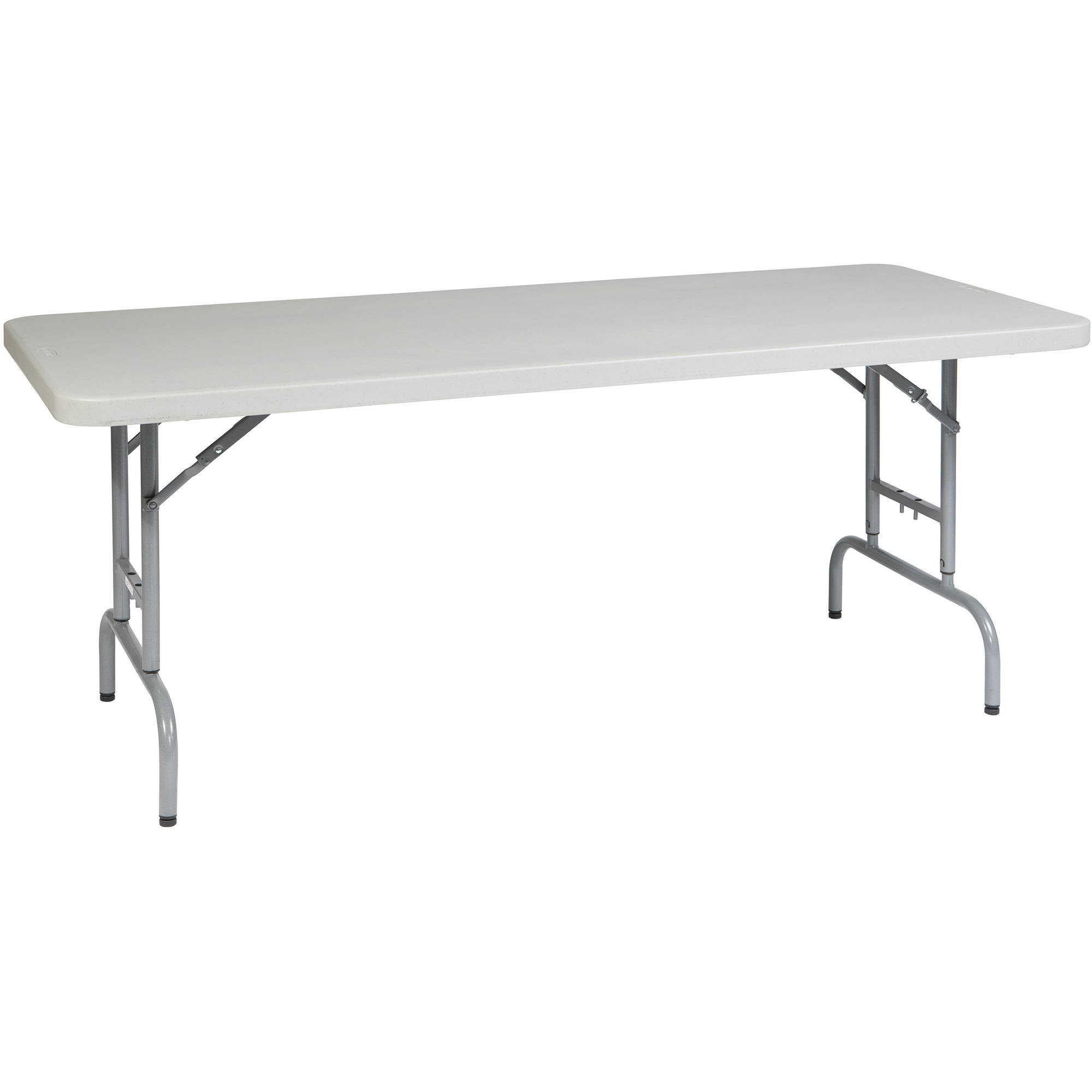Multi Purpose Table work smart 6' height adjustable resin multi-purpose table, light