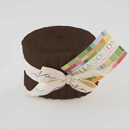 Moda Bella Junior Jelly Roll Strips 2.5 x 44 x 20 Brown