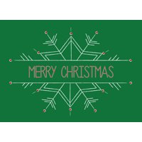 CEO Cards Christmas Greeting Card Box Set of 25 Cards & 26 Envelopes - H1602