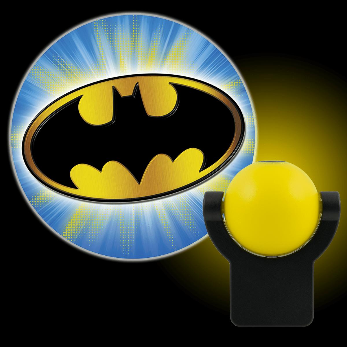 Projectables DC Comics Batman LED Plug-In Night Light, Bat Signal, 14536