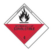 LABELMASTER SNT21 Spontaneous Combust Lbl,100mmx120mm,500 G0271848