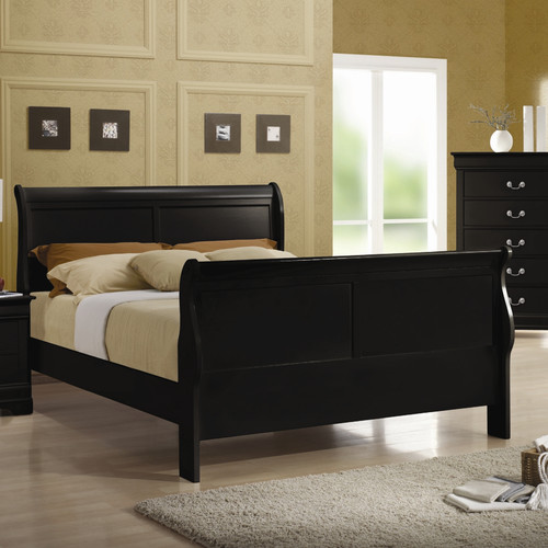 Alcott Hill Northampton Sleigh Bed by