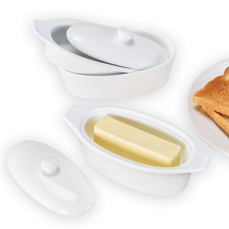 Classic Butter Dish & Keeper - Unique Kitchen Gadgets for Food Storage