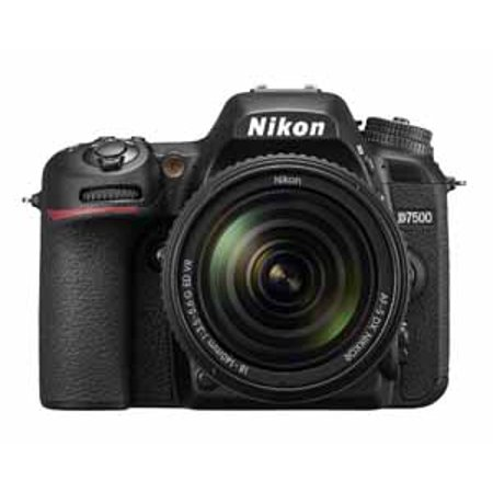 Nikon D7500 20.9 Megapixel Digital SLR Camera with Lens - 18 mm - 140 mm - 3.2
