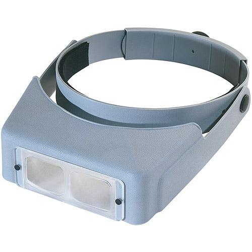 "OptiVISOR LX Binocular Magnifier, Lensplate #4 Magnifies 2X At 10"""