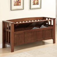 Accent Entryway Bench, Brown