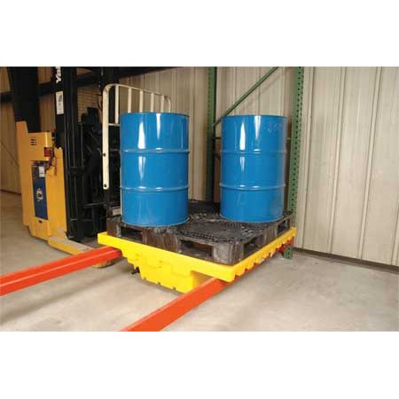 ZORO SELECT 2396 Pallet Rack Containment Sump with - Sump Pallet