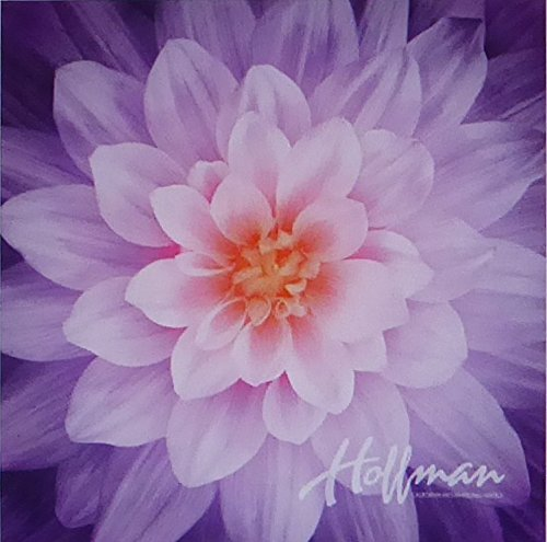 "Dream Big~Orchid~Digital Floral Panel 43"" x 43"" Cotton Fabric by Hoffman"