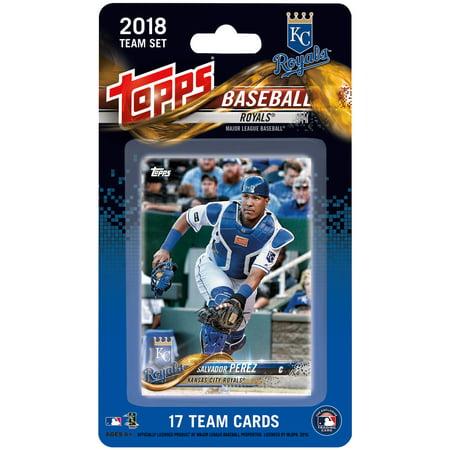 Kansas City Royals 2018 Team Set Trading Cards - No - Kansas City Royals Stickers