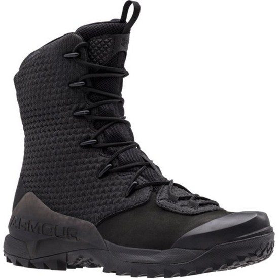 """Under Armour 1287948 Men's Black 10"""" Infil Ops GTX Leather Boots Size - 8.5"""