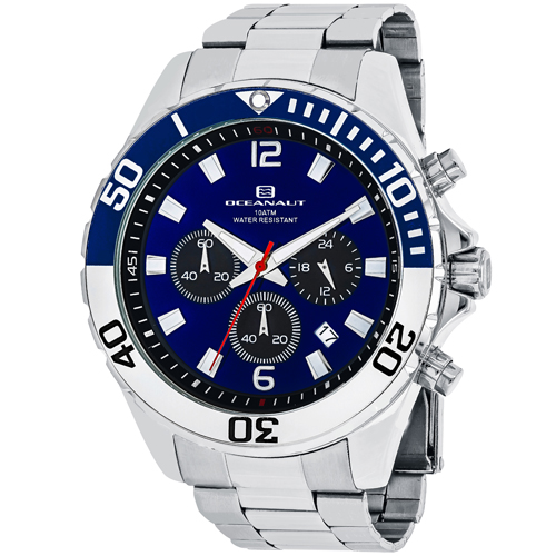 Oceanaut Men's Sevilla Watch Quartz Mineral Crystal OC2520