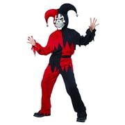 Halloween Boys Evil Jester Large