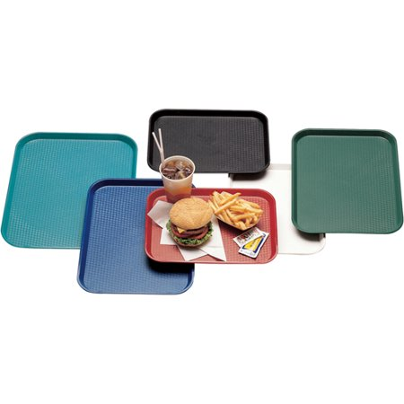 "Cambro 1216FF Fast Food Tray 11-7/8"" x 16-1/8"" Blue"