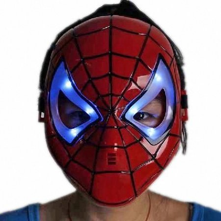 P&o LED Shiny Spiderman/Spider Man Mask Eyes/Halloween/Christmas/Masquerade Mask/Cosplay/Make up Toy, A good gift to pamper yourself or for.., By OPP ()