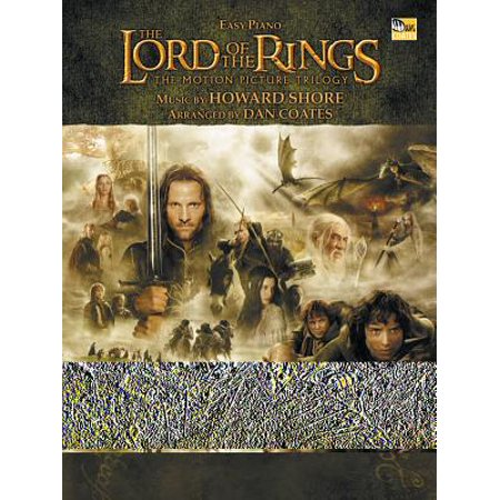 The Lord Of The Rings Easy Piano: The Motion Picture (In Dreams Lord Of The Rings Piano)