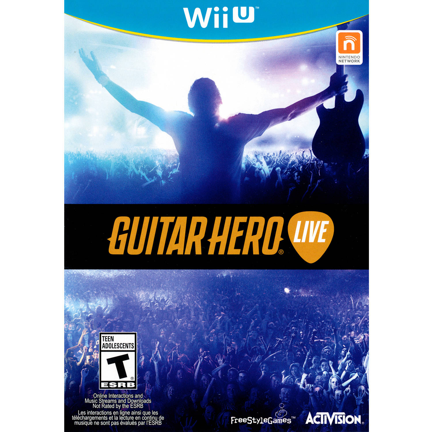 Guitar Hero Live Game Only (Wii U) - Pre-Owned