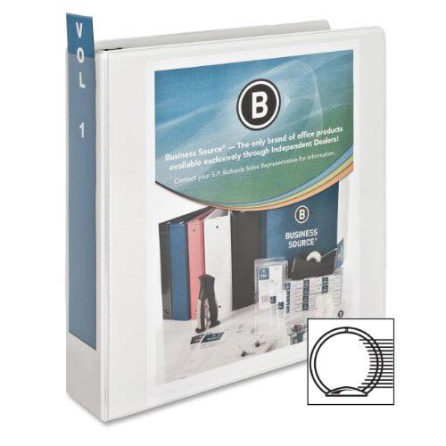 Business Source Top Tab File Folder, Letter, 1/3 Tab Cut, Assorted Position, Manila, 100 per Box