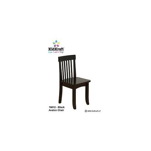 KidKraft 16612 Avalon Chair - Black