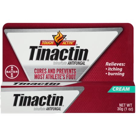 Tinactin Athlete's Foot Antifungal Treatment Cream, 1 Ounce