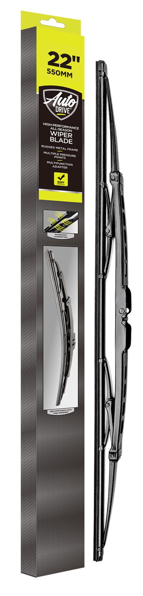 Set of 2 Online Automotive WBVLCOR14 7001 Front Standard Windscreen Wiper Blades