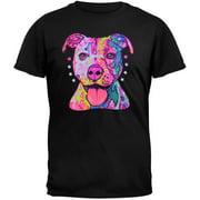 Pitbull Neon Black Light Adult T-Shirt - 2X-Large