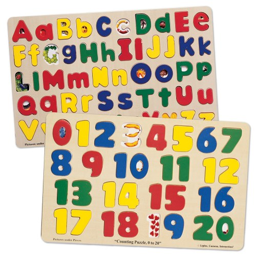 Numbers & ABC Puzzle Set