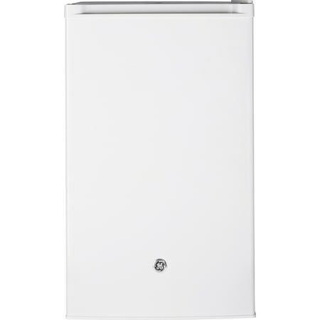GE Appliances 4.4 cu ft Single Door Compact Refrigerator, White