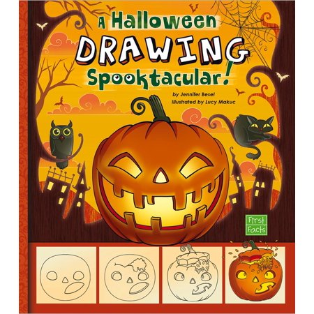 First Facts: Holiday Sketchbook: A Halloween Drawing Spooktacular! (Other)