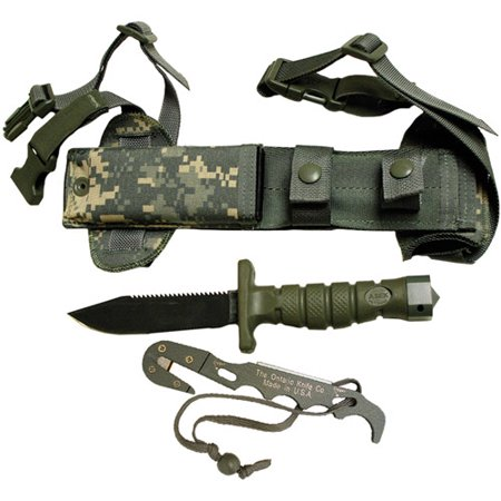 Ontario Knife Company ASEK Survival Military Knife System ...