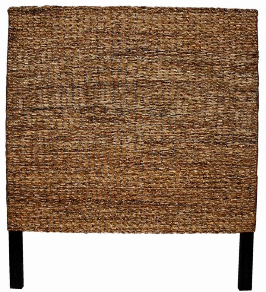 Natural Twisted Abaca Queen Size Headboard