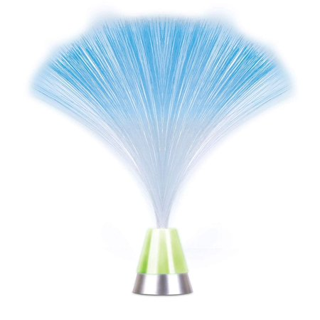 Color Changing Fiber Optic LED Light Battery Operated Table Lamp Room Decor ()