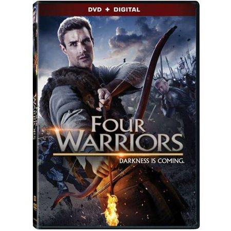 Four Warriors  Dvd   Digital Copy   With Instawatch   Widescreen