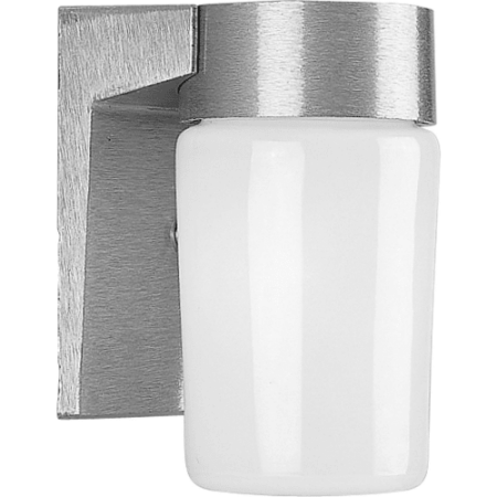 Progress Lighting P5511 Signature 1 Light Outdoor Wall Sconce with Opal Glass Sh